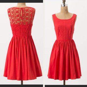 Anthro Moulinette Soeurs Sweet Enticement Dress